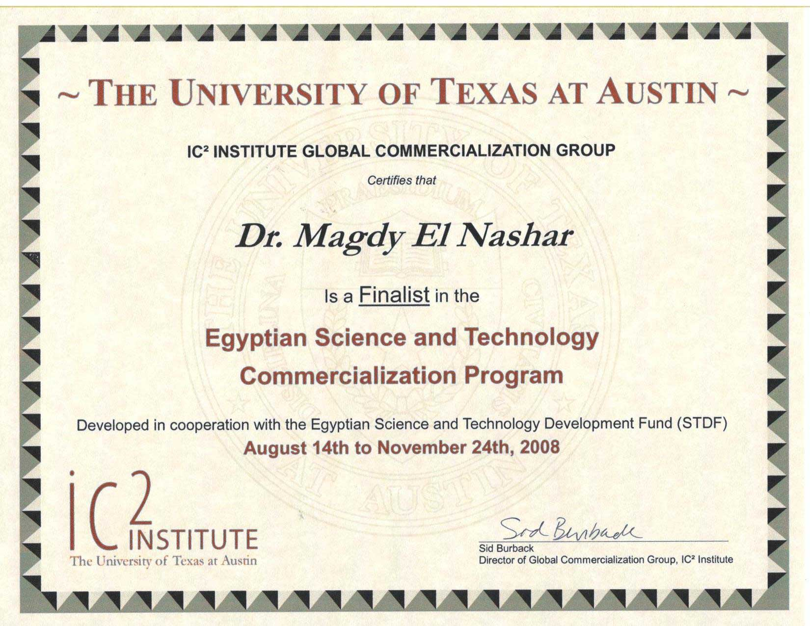 Awards the pi got a finalist certificate for presenting one of the best 4 projects in egypt among 350 projects that can be commercialized worldwide and especially alramifo Choice Image